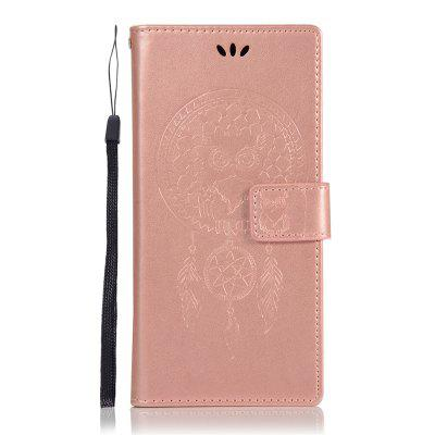 Owl Wind Chimes Wallet PU Flip Leather Cover for Samsung Galaxy Note 9 Case