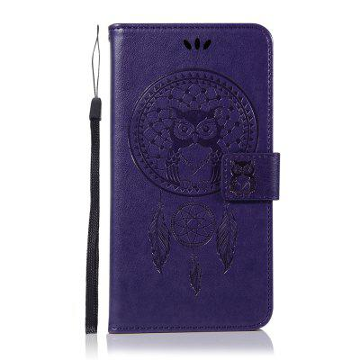 Owl Wallet PU Flip Leather Cover for Samsung Galaxy J6 Plus / J6+ 2018 Case