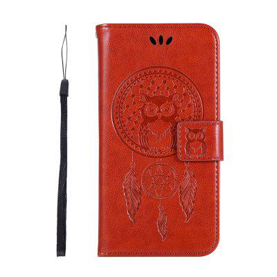 Owl Wind Chimes Wallet PU Flip Leather Cover for iphone XS MAX Case