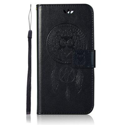 Owl Wind Chimes Wallet PU Flip Leather Cover for Xiaomi Redmi 6 Case