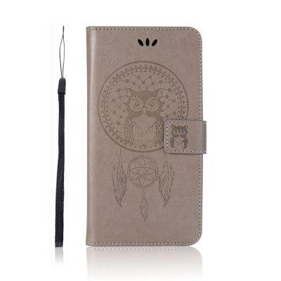 Owl Wallet PU Flip Leather Cover for Xiaomi Redmi Note 6 / Note 6 Pro Phone Case