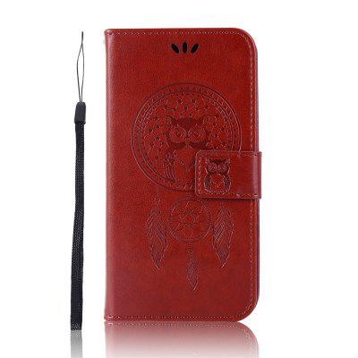 Owl Wallet PU Flip Leather Cover for LG Aristo 2 / K8 2018 ( US Version ) Case