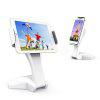 Tablet Stand Adjustable 360 Degree Fits 7-15 inch Display Tablet/Phones - WHITE