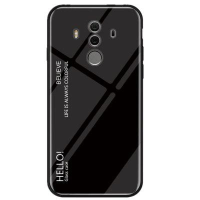 Gradient Tempered Glass Case for Huawei Mate 10 Pro