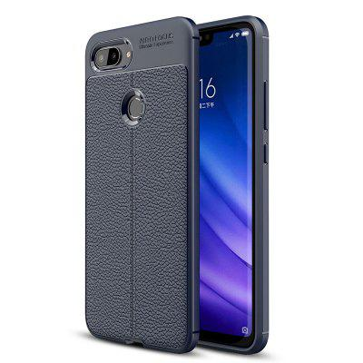 Luxury Lichee  Grain Anti-Drop Soft TPU Case for Xiaomi Mi 8 Lite