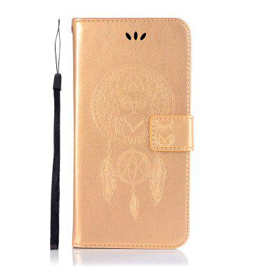 Owl Wind Chimes Wallet PU Flip Leather Cover for Motorola Moto Z3 Play Case