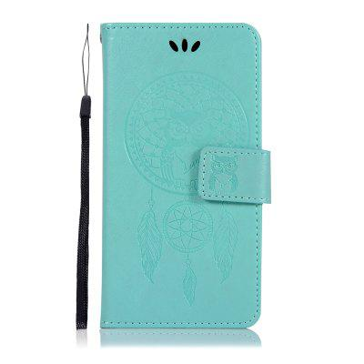 Owl Wind Chimes Wallet PU Flip Leather Cover for Sony Xperia XZ2 Compact Case