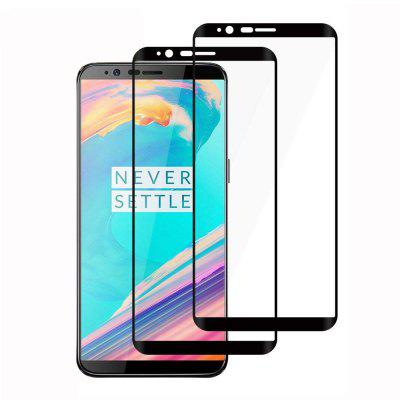 2 Pcs HD Screen Protector Protection Film for OnePlus 5T Tempered Glass