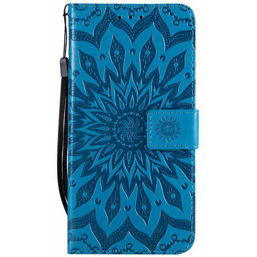 3D Sunflower Wallet Flip Leather for Xiaomi Redmi Note 6 Pro Book Sryle Cover