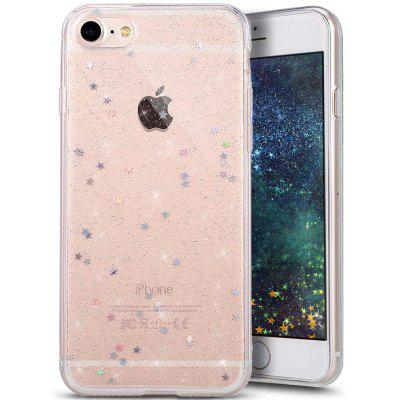 Shiny Sparkling Star Bling Clear Soft TPU for iPhone 6/6s