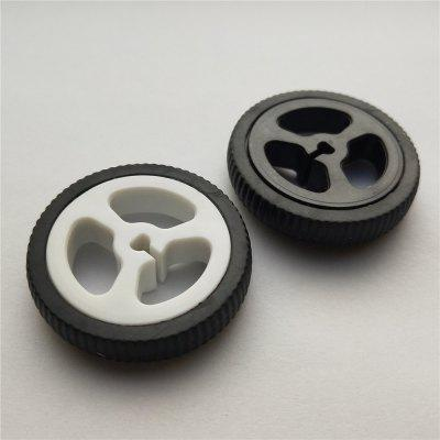 D-Hole Rubber Wheel Suitable for N20 Motor D Shaft Tire Car Robot DIY Toys Parts