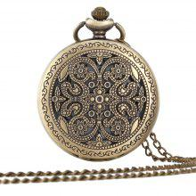 A Turquoise Tan Pocket Watch