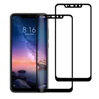 2PCS Full Cover 3D Tempered Glass Screen Protector for Xiaomi Redmi Note 6 Pro