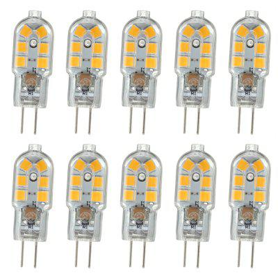 OMTO 10PCS G4 Lamp 220V SMD2835 LED Bulb G4 mini Ultra Bright Chandelier Lights