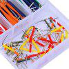 Pre-formed 140-piece Jumper Wire Kit - WHITE
