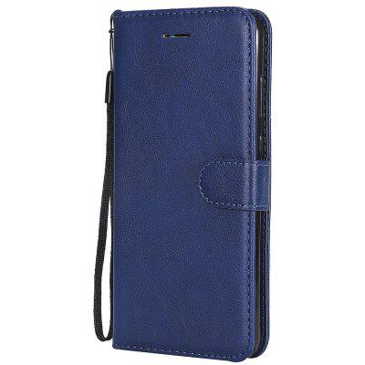 For Huawei P20 Pro Case Plain PU Leather Flip Case Wallet Card Holder Book Cover