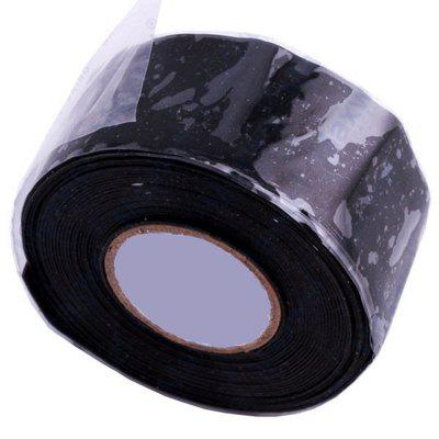 3 Meters Universal Waterproof Black Silicone Repair Tape Bonding Home Water Pipe