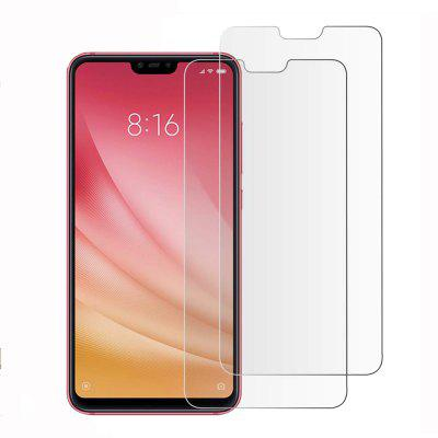 2 PCS Screen Protector per Xiaomi Mi 8 Lite / 8 Youth / 8X HD in vetro temperato