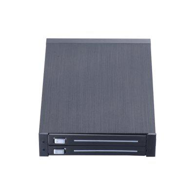 UNESTECH ST2524 Dual Bay Internal SATA Hot Swap Mobile Rack for 2 x2.5in HDD/SSD