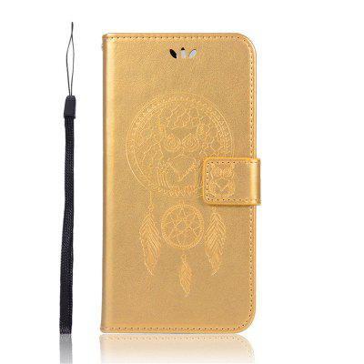 Owl Wallet Flip Leather Cover для Huawei Y7 / Y7 Pro / Y7 Prime 2018 Case