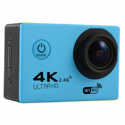 4K WIFI Sports Camera with Remote Control Ultra High Definition
