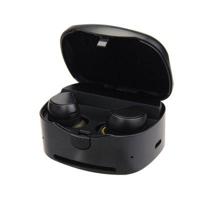 Twin Earbuds Mini Stereo Bluetooth Headset Hands-Free with Charging Box Base