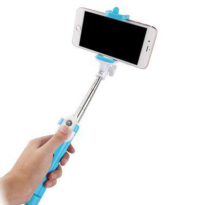 Moda Selfie Stick retráctil trípode Bluetooth Remote Shutter