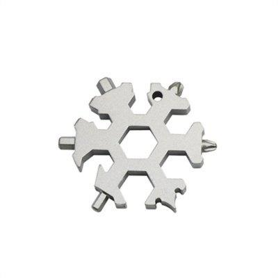 Creative Multi-Function Snowflake Gadget Can Be Used As A Keychain