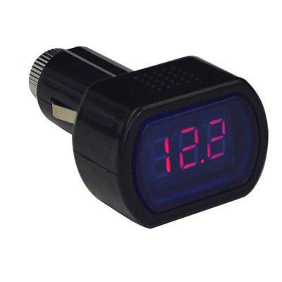 for  Mini Digital car Battery Voltage LED Display Steam