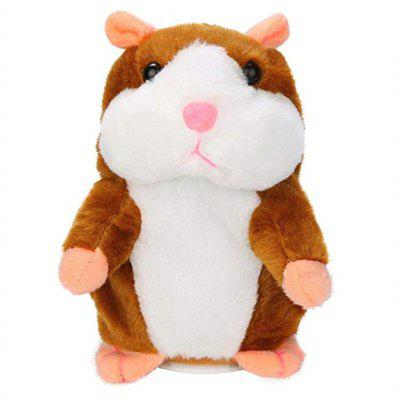 Cute Speak Sound Record Hamster Educational Toy