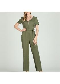 afc148c3a66 V neck jumpsuit in Jumpsuits   Rompers - Online Shopping
