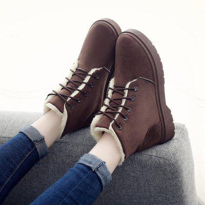 Winter Warm Snow Boots Outdoor Casual Shoes