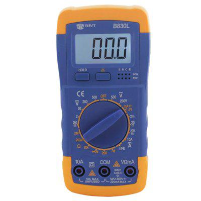 BEST B830L LCD Digital Multimeter - BLUE