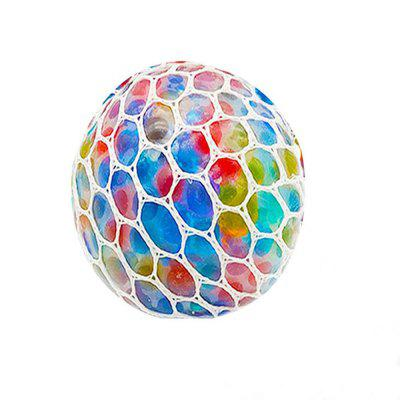 Kid's Decompression Toy Colored Grape Ball  Creative Toy