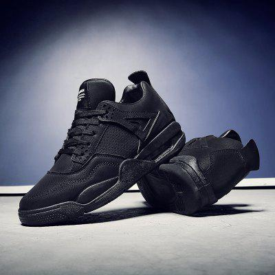 Leather Winter New Sports Leisure Running Wear Resistant Men's Shoes