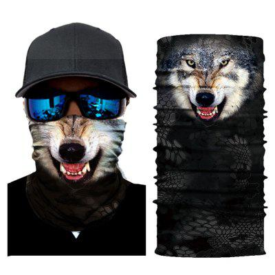 Snow Wolf style magic scarf