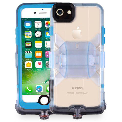new styles e31f3 ddb06 Cornmi TPE 360 Full Protective IP68 Waterproof Phone Case For Iphone 7 8