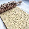 Rolling Pins with Christmas Deer Pattern for Baking Cookies In  Kitchen Tool - WOOD