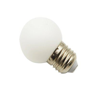 1W E27 LED Globe Bulbs G45 Beads SMD 3528 Warm White 220V for Decoration