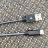 gocomma USB3.1 Network Cable for Android Type-C Fast Charge - BLACK