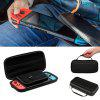 Portable Hard Shell Case for Nintend Switch Water-resistent EVA Storage Bag - JET BLACK