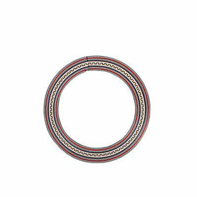 Rosette Rosewood Maple for Acoustic Classical Guitar Hand-engraved Pattern