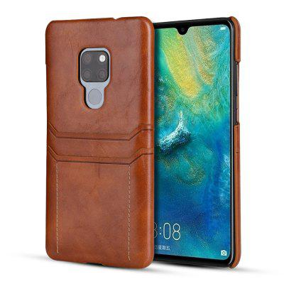 Small Calf Double Card Mobile Phone Holster for Huawei Mate 20X