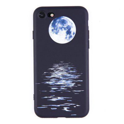 Moon Water Ripple Soft Phone Case Cover TPU Protective for iPhone 8