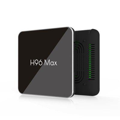 S905X2 H96 Max X2 Android 8.1 TV Box 4+64GB USB3.0 Set-Top Box Voice Remote Cont