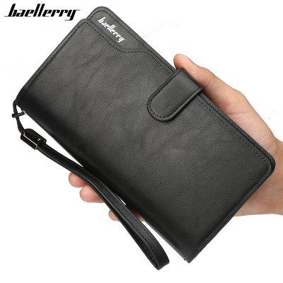 Baellerry Men Top Quality Leather Wallet Purse Fashion Casual Male Clutch
