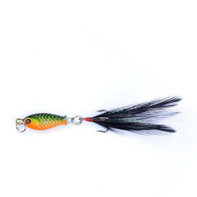 Lu Ya Bait Mini Lead Fish 4G75MM Road Sub  Plate