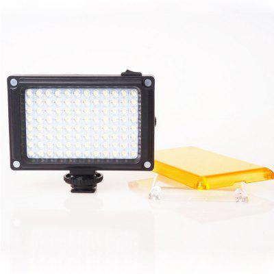 Mini 96 LED Video Light Foto Illuminazione su fotocamera Hot shoe