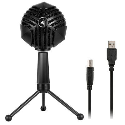 Yanmai trending products GM-888 full angle adjustable laptop usb microphone