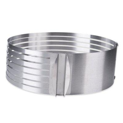 Circular 9 inch-11.8 inch Adjustable 7 Layers Mousse Ring Cake Bread Slicer